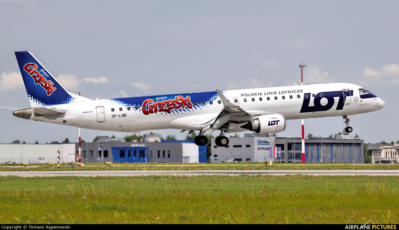 LOT - Polish Airlines SP-LNB aircraft at Rzeszów-Jasionka