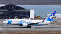 NordStar Boeing 737 visited Svalbard title=