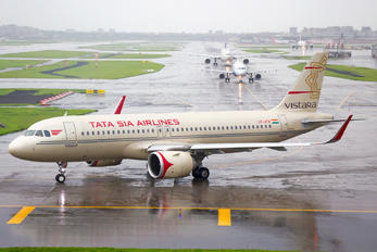 VT-ATV - Vistara Airbus A320 NEO