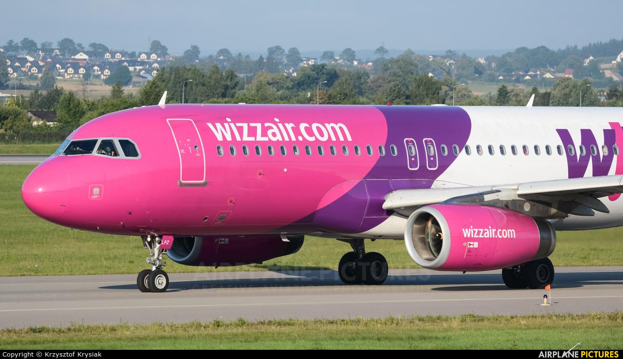 Wizz Air HA-LPZ aircraft at Gdańsk - Lech Wałęsa