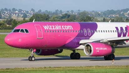 HA-LPZ - Wizz Air Airbus A320