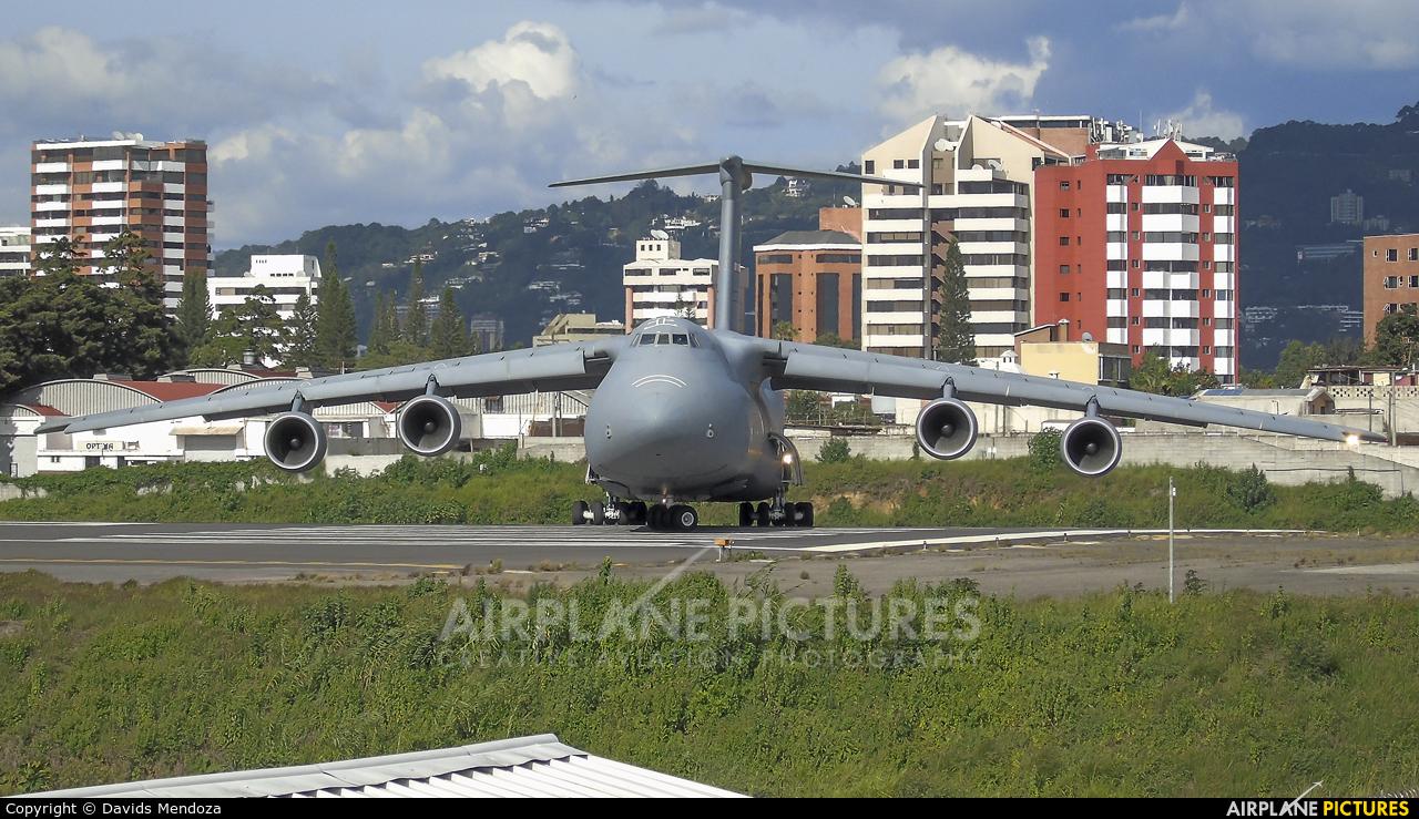 USA - Air Force 87-0043 aircraft at Guatemala - La Aurora