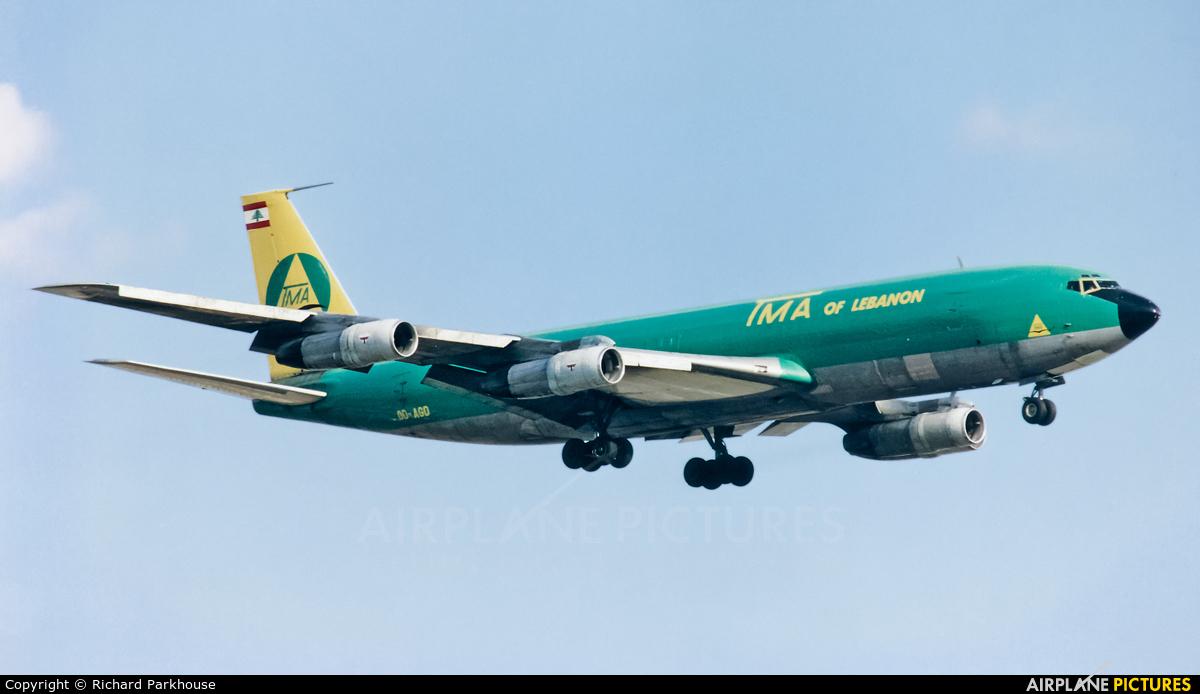 TMA Cargo OD-AGD aircraft at London - Heathrow