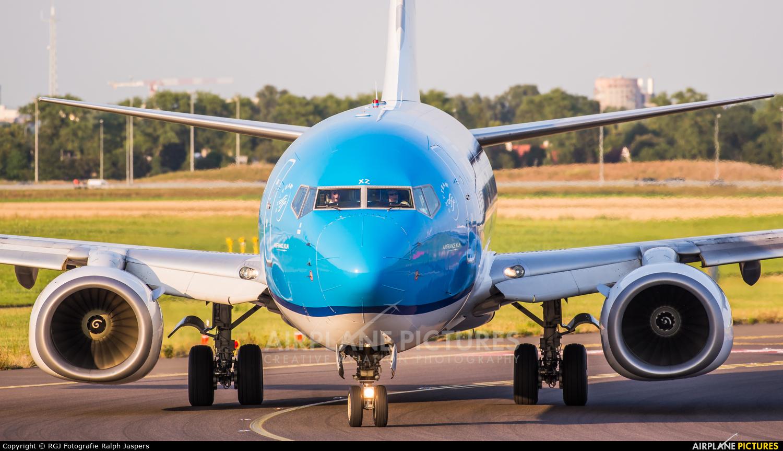 KLM PH-BXZ aircraft at Amsterdam - Schiphol