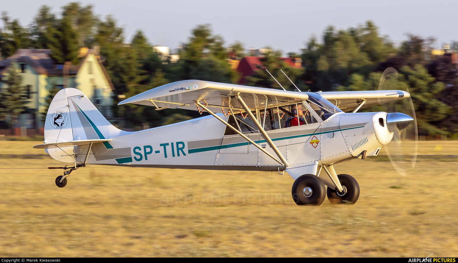 Private SP-TIR aircraft at Warsaw - Babice