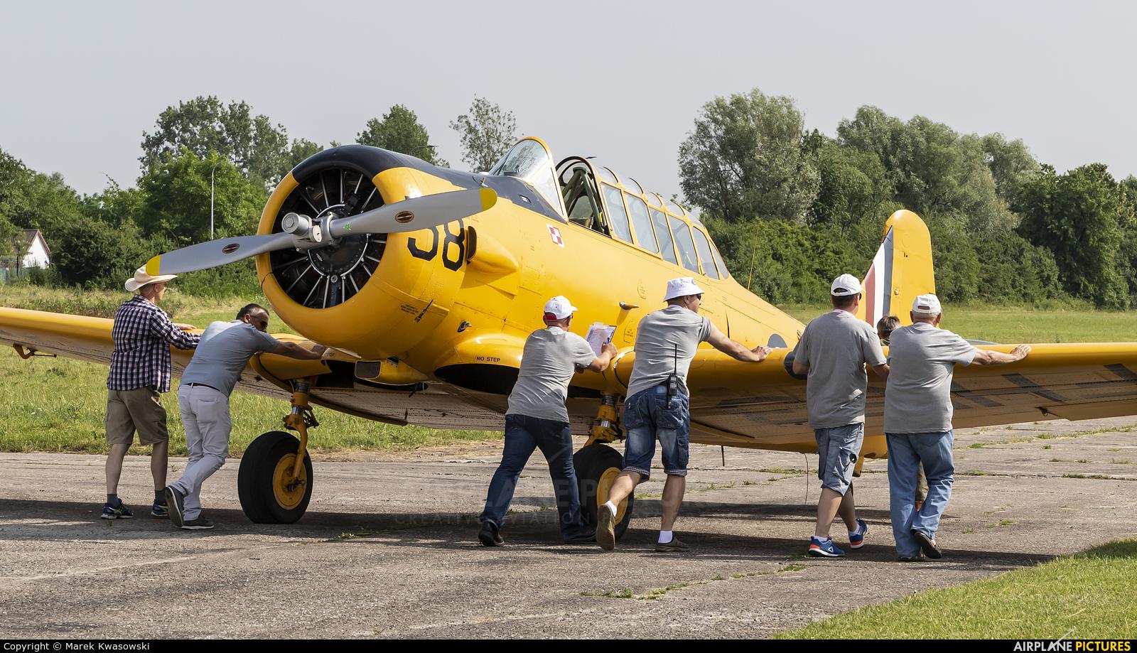 Private FH153 aircraft at Płock