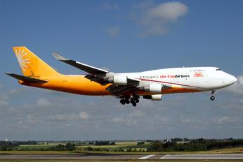 ER-BAJ - Uni-top Airlines Boeing 747-400BCF, SF, BDSF
