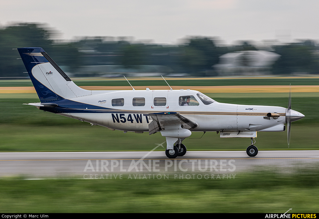 Private N54WT aircraft at Augsburg