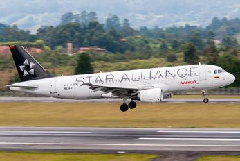 N536AV - Avianca Airbus A320