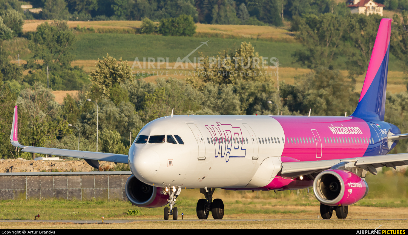 Wizz Air HA-LXF aircraft at Kraków - John Paul II Intl
