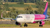 HA-LXF - Wizz Air Airbus A321 aircraft
