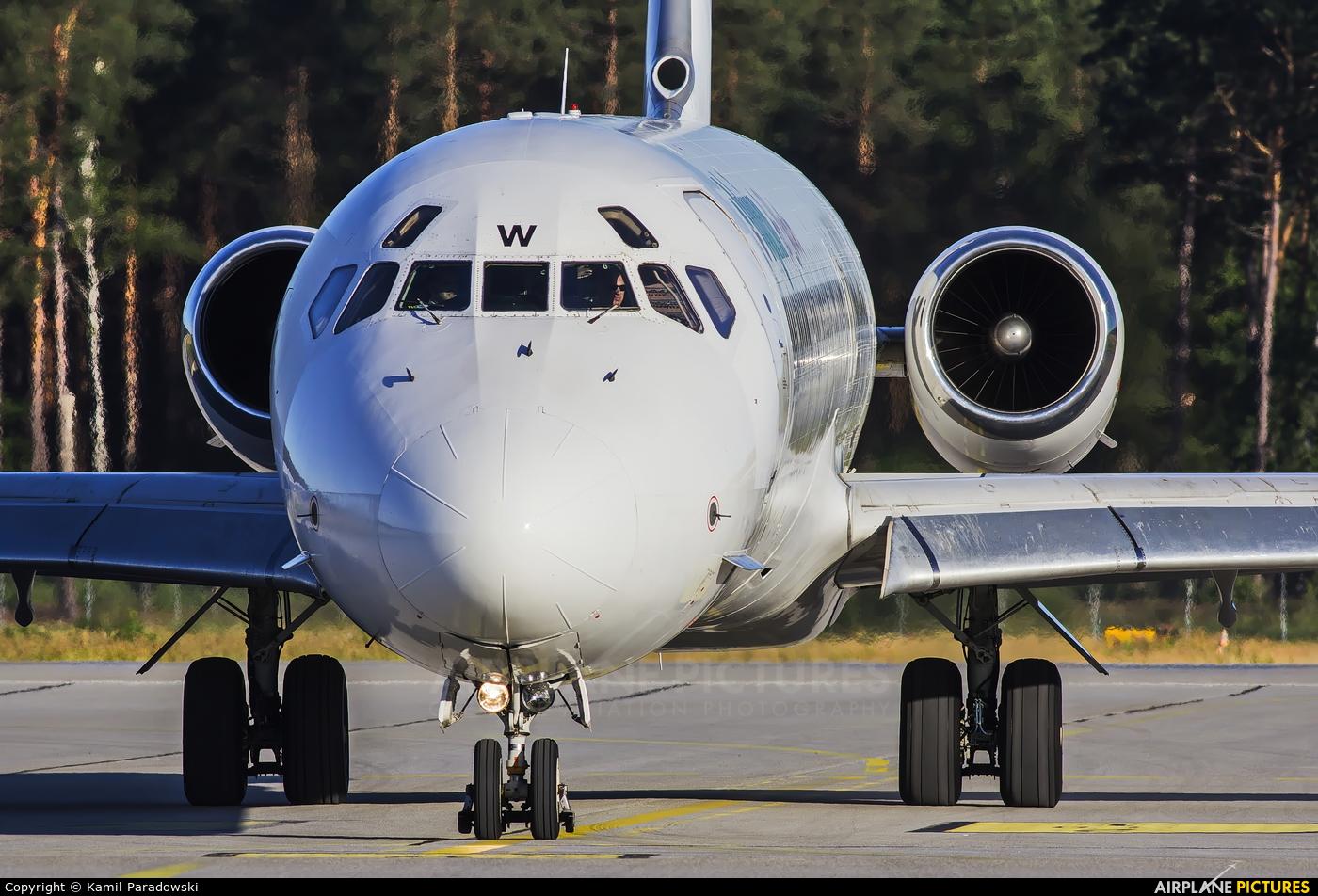 Bulgarian Air Charter LZ-LDW aircraft at Olsztyn Mazury Airport (Szymany)