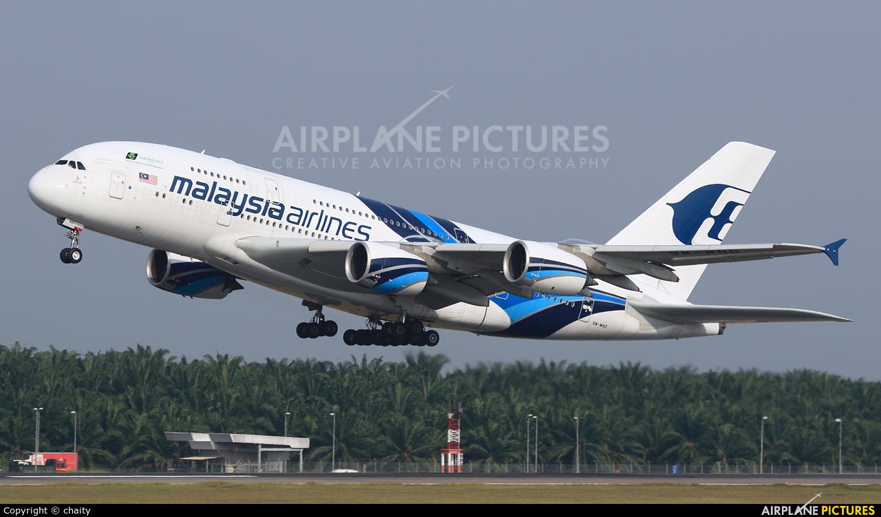 Malaysia Airlines 9M-MND aircraft at Kuala Lumpur Intl