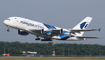 9M-MND - Malaysia Airlines Airbus A380 aircraft