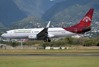 5R-EBA - Air Madagascar Boeing 737-800