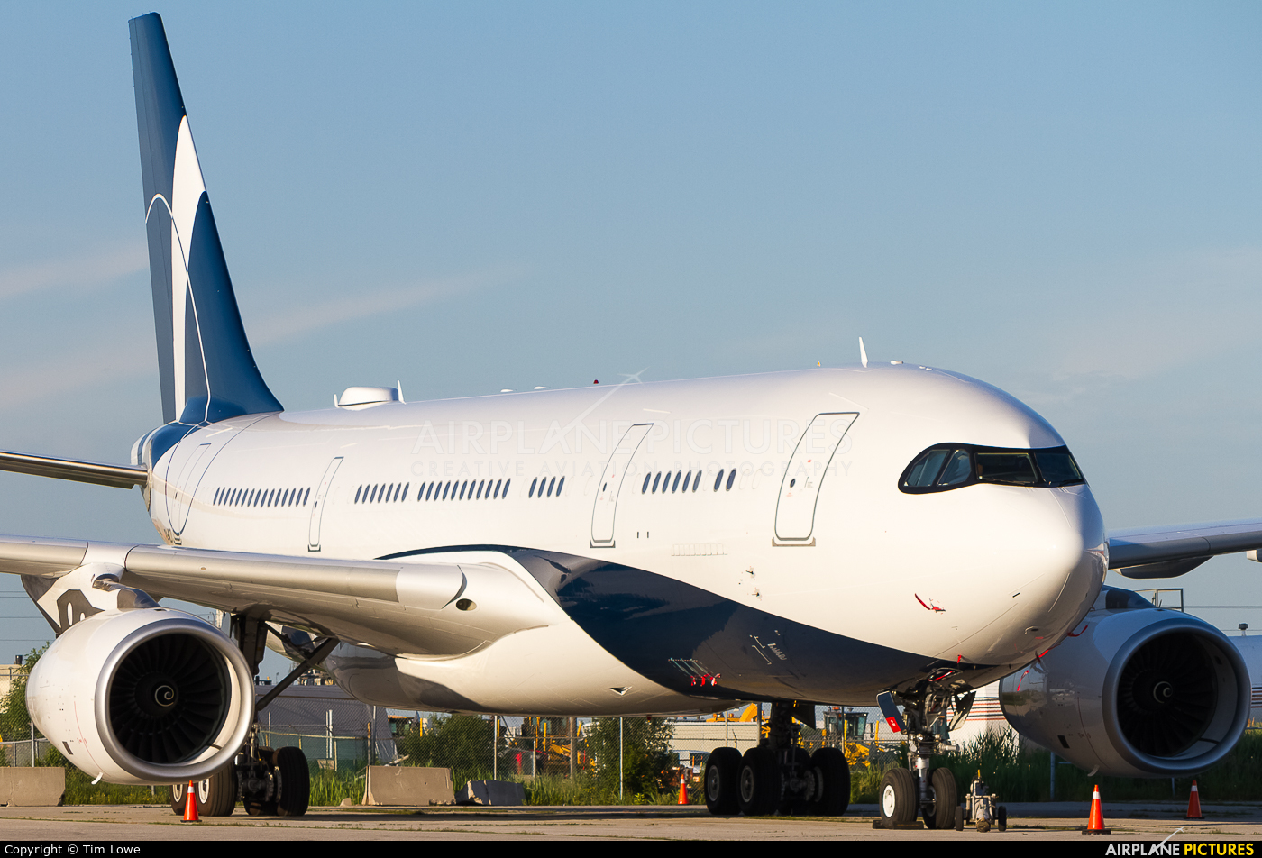 Comlux Aviation P4-MLO aircraft at Toronto - Pearson Intl, ON