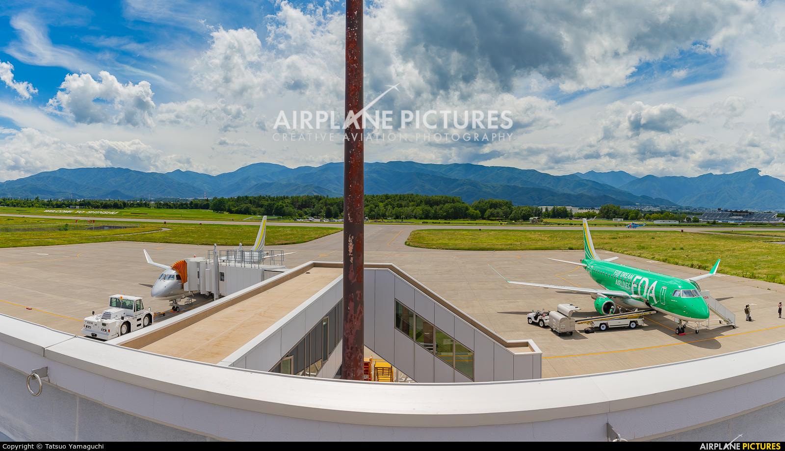 - Airport Overview - aircraft at Shinshu - Matsumoto
