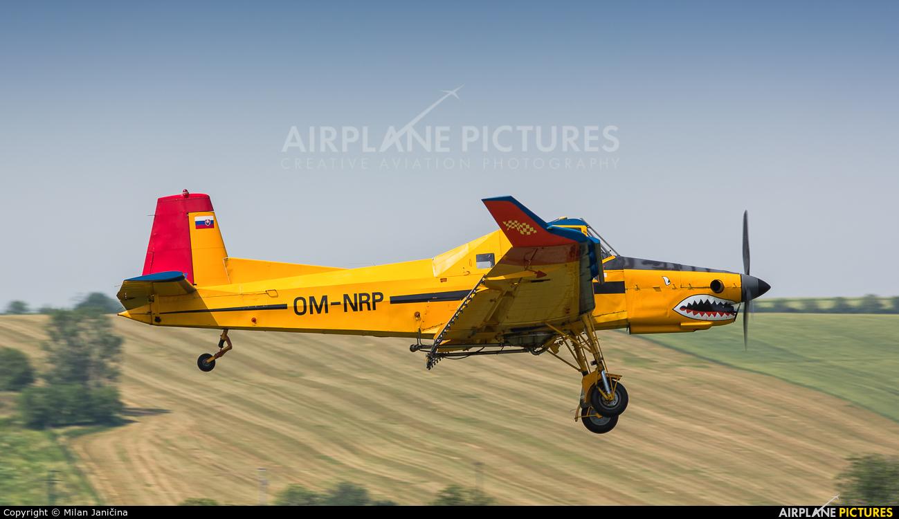Aero Slovakia OM-NRP aircraft at Off Airport - Slovakia