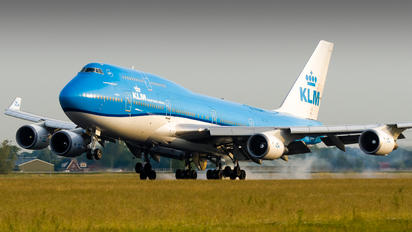 PH-BFT - KLM Boeing 747-400