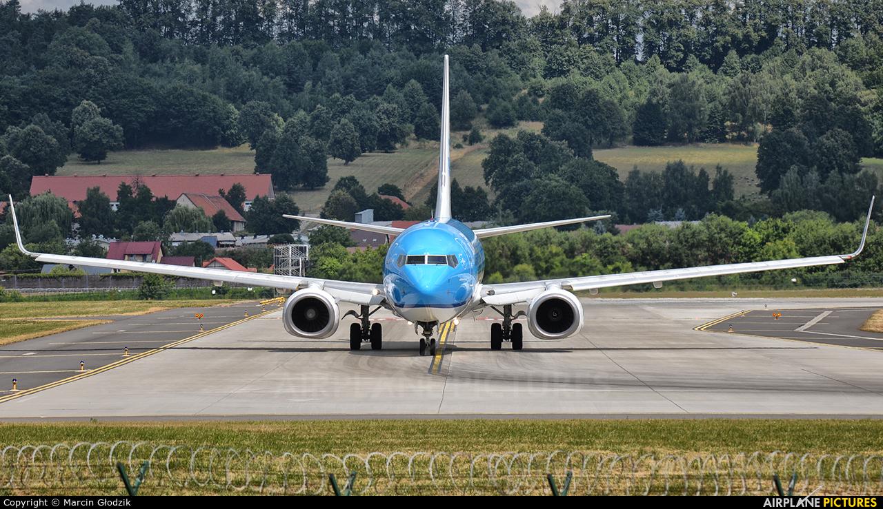 KLM PH-BGG aircraft at Kraków - John Paul II Intl