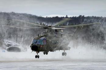 ZJ990 - Royal Navy Agusta Westland AW101 411 Merlin HC.3