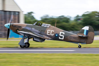 "PZ865 - Royal Air Force ""Battle of Britain Memorial Flight"" Hawker Hurricane Mk.IIc"