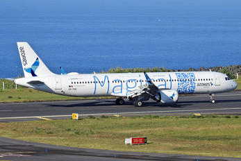CS-TSH - Azores Airlines Airbus A321 NEO