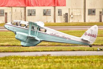G-AHAG - Scillonia Airways de Havilland DH. 89 Dragon Rapide