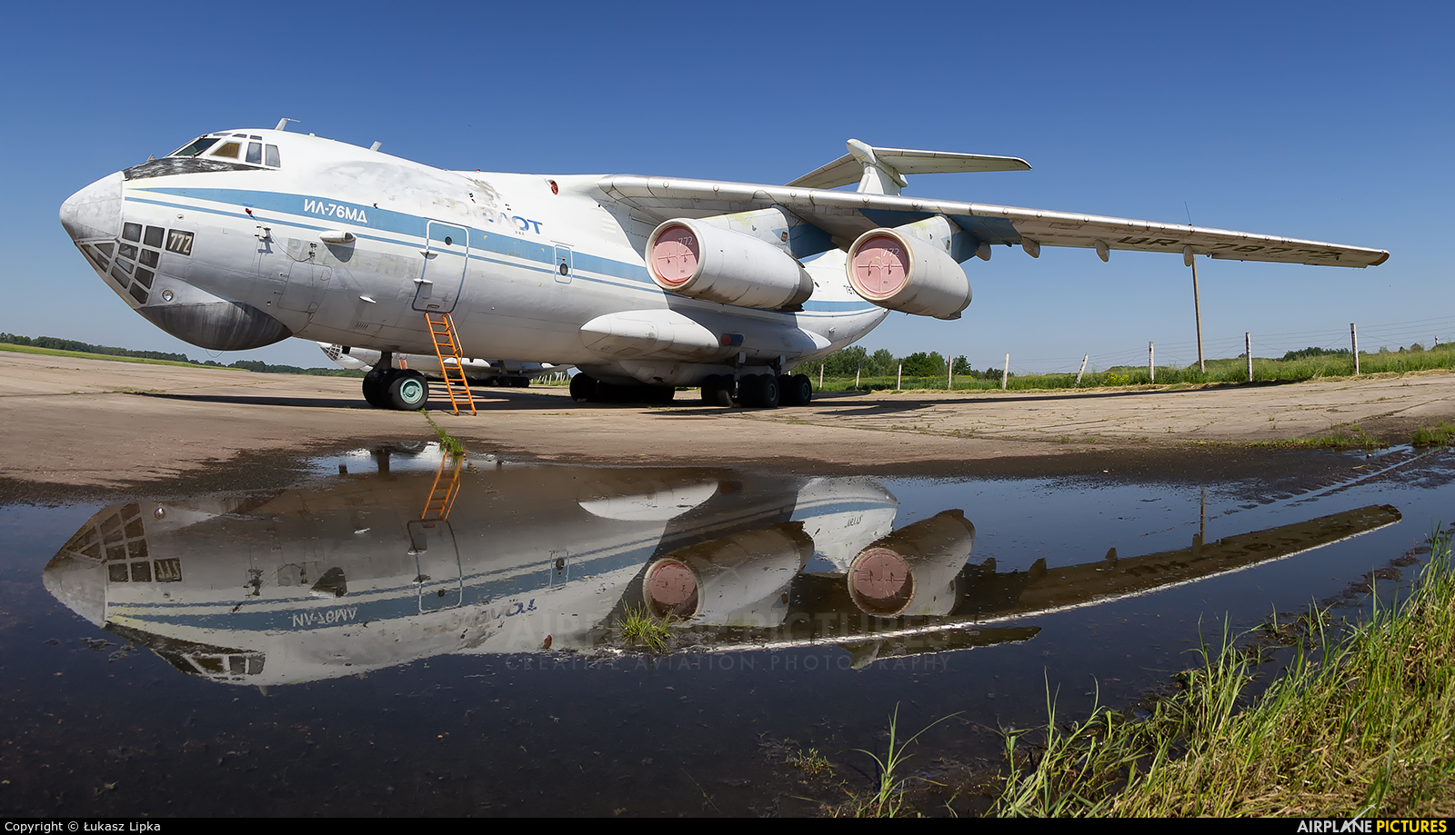 Undisclosed UR-78772 aircraft at -Do Not Use-
