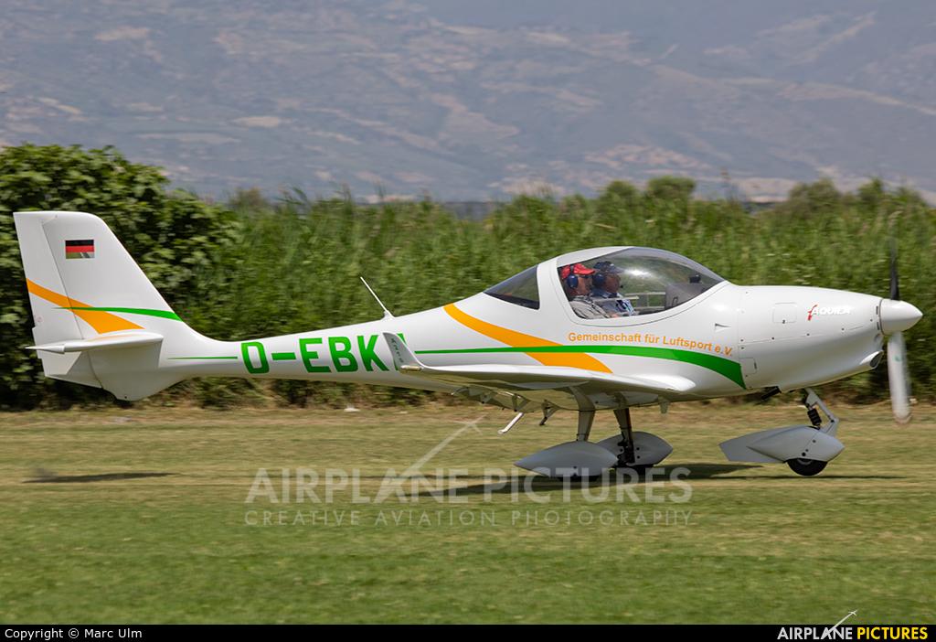 Private D-EBKA aircraft at Sibari Fly