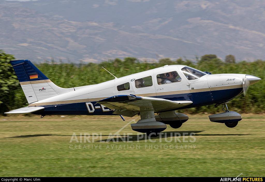Private D-ETAP aircraft at Sibari Fly