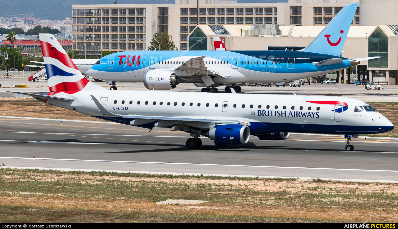 British Airways - City Flyer G-LCYM aircraft at Palma de Mallorca