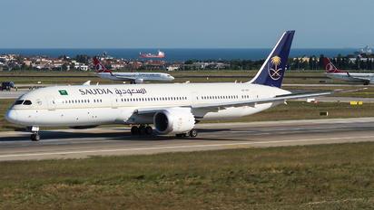 HZ-ARH - Saudi Arabian Airlines Boeing 787-9 Dreamliner