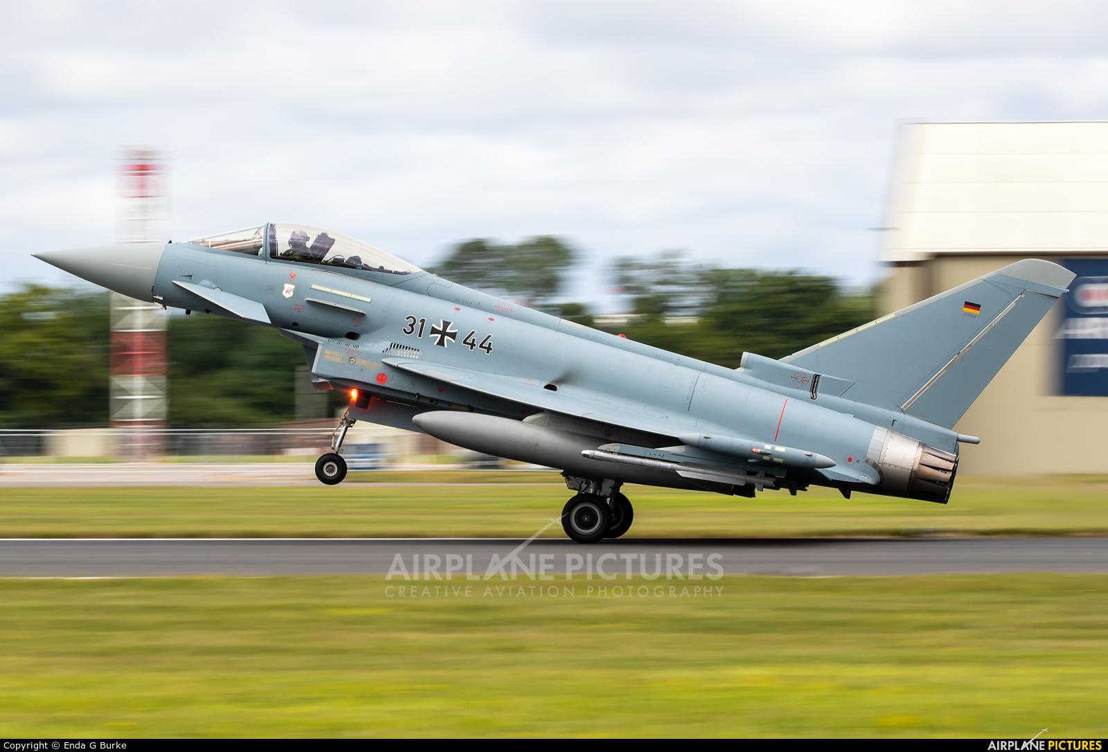 Germany - Air Force 31+44 aircraft at Fairford
