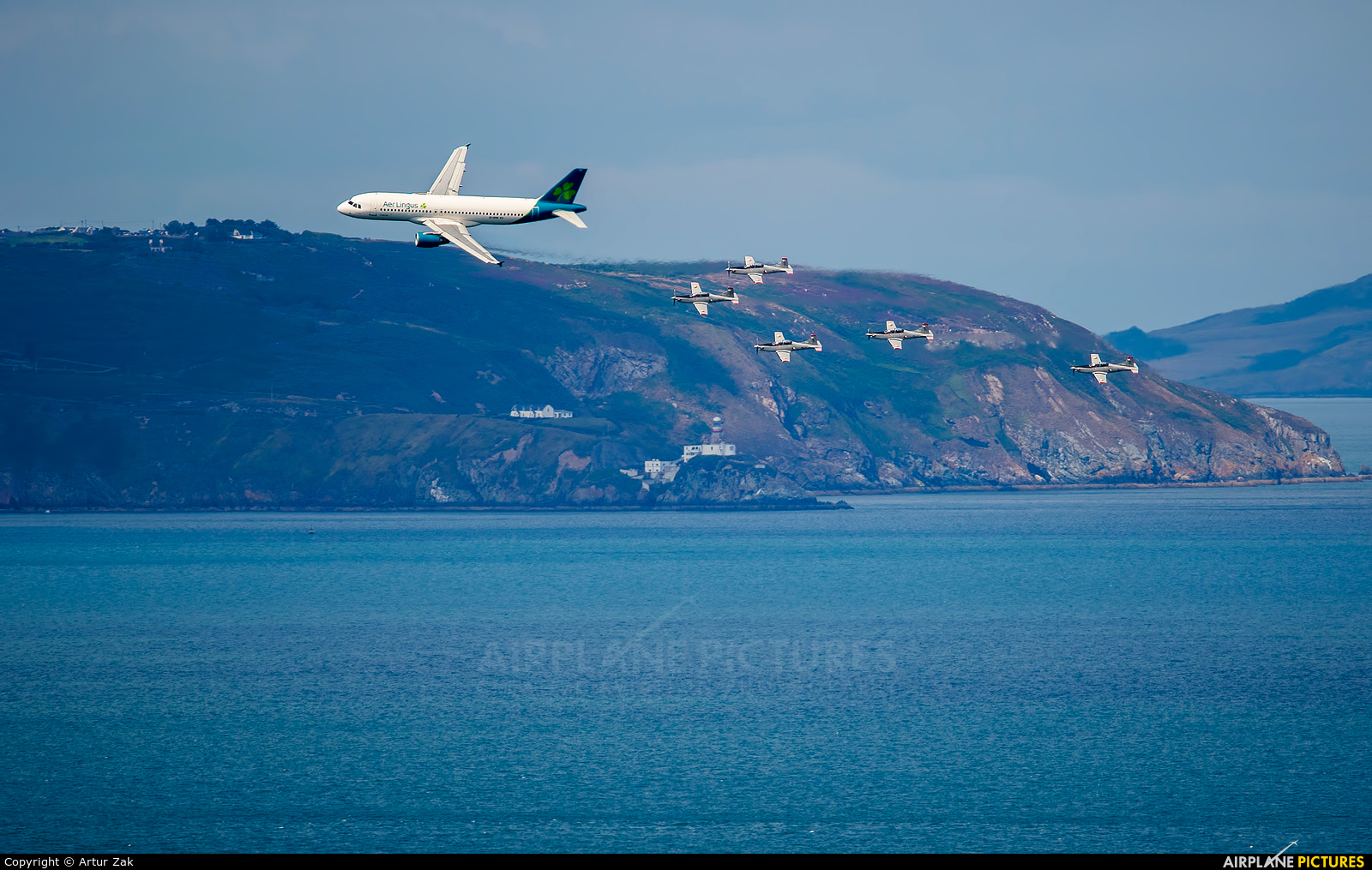 Aer Lingus EI-DVN aircraft at Bray - Off Airport