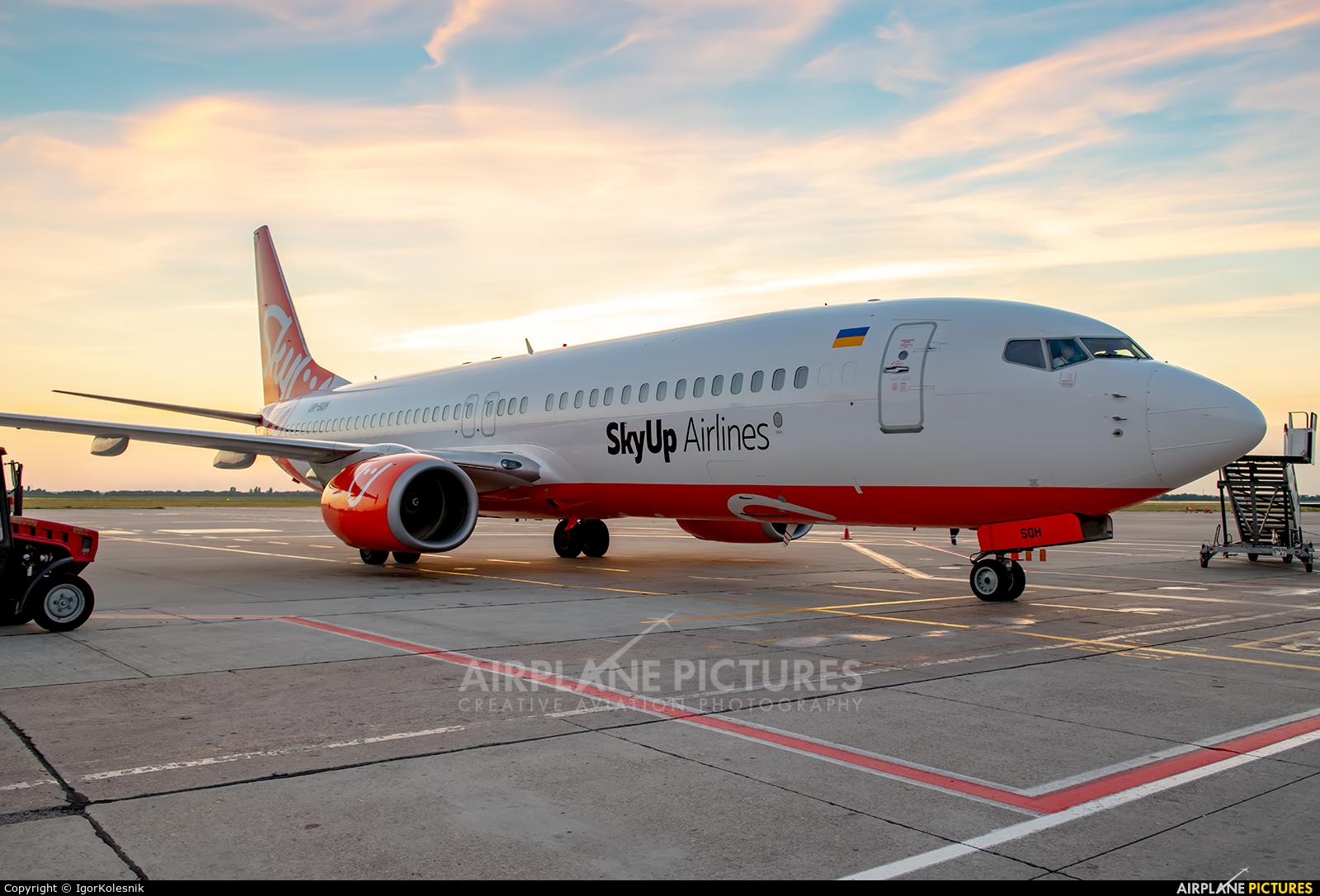 SkyUp Airlines UR-SQH aircraft at Kyiv - Borispol
