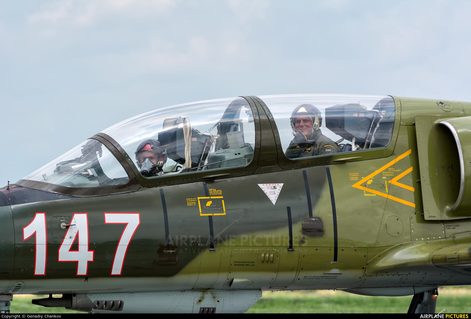 Bulgaria - Air Force 147 aircraft at Graf Ignatievo