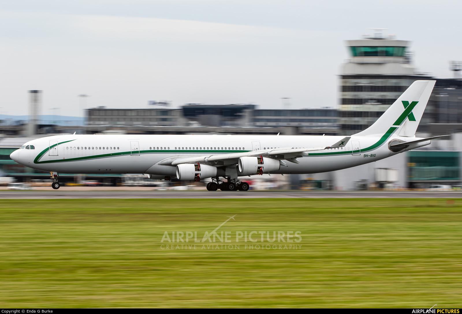 AIR X Charter 9H-BIG aircraft at Manchester