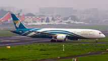 First visit of Oman Air B789 to Mumbai title=