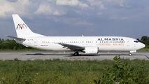 Al Masria Boeing 737-400 visited Craiova title=