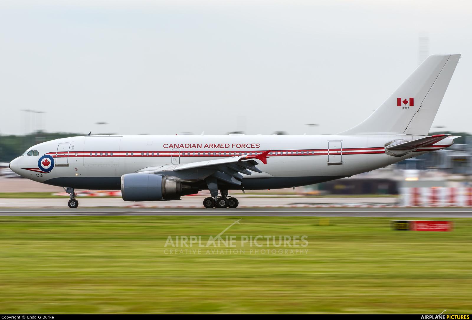 Canada - Air Force 15003 aircraft at Manchester