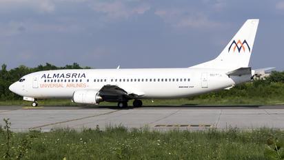 SU-TCK - Almasria Universal Airlines Boeing 737-400