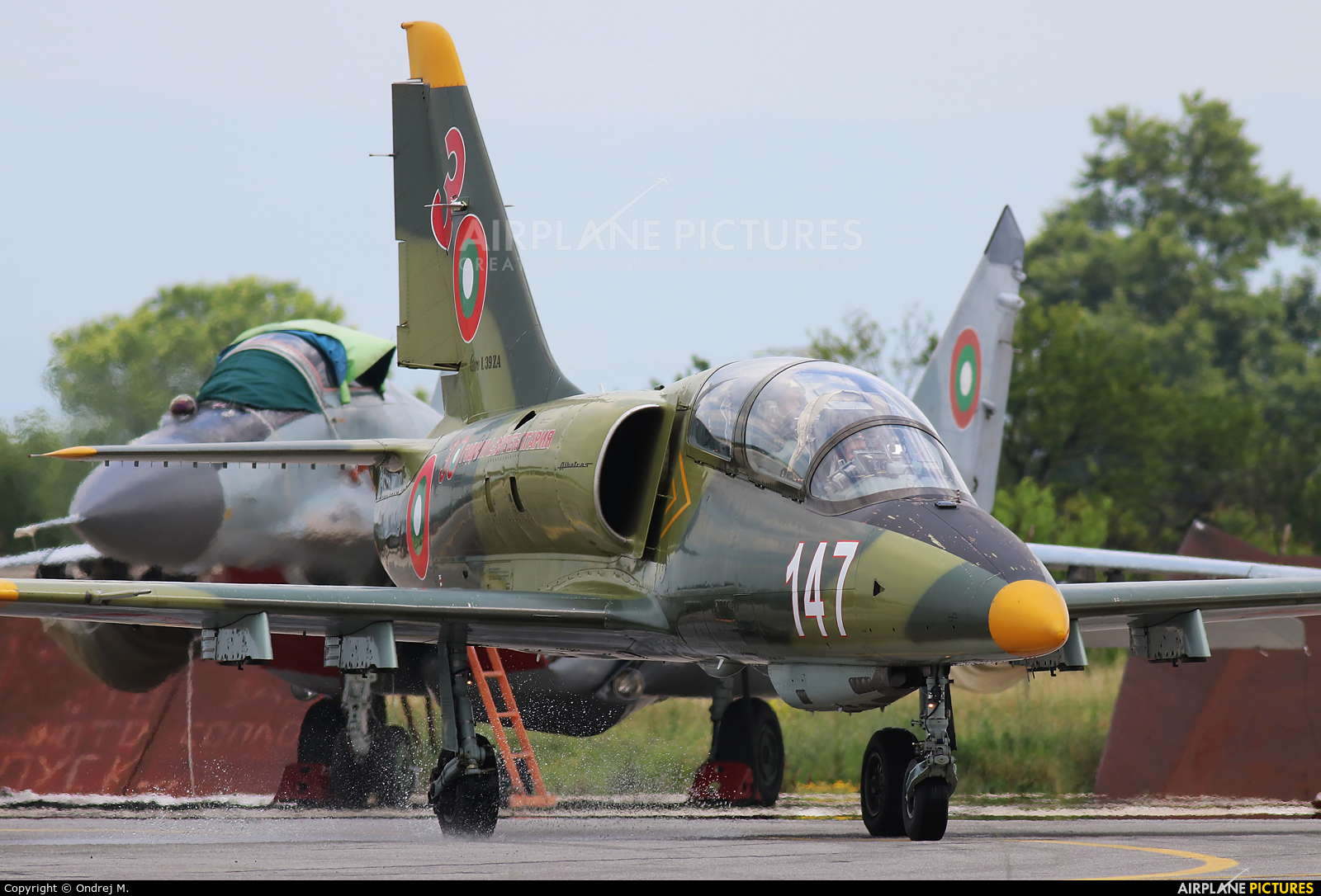 Bulgaria - Air Force 147 aircraft at Graf Ignatievo