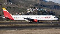 EC-JLI - Iberia Express Airbus A321 aircraft