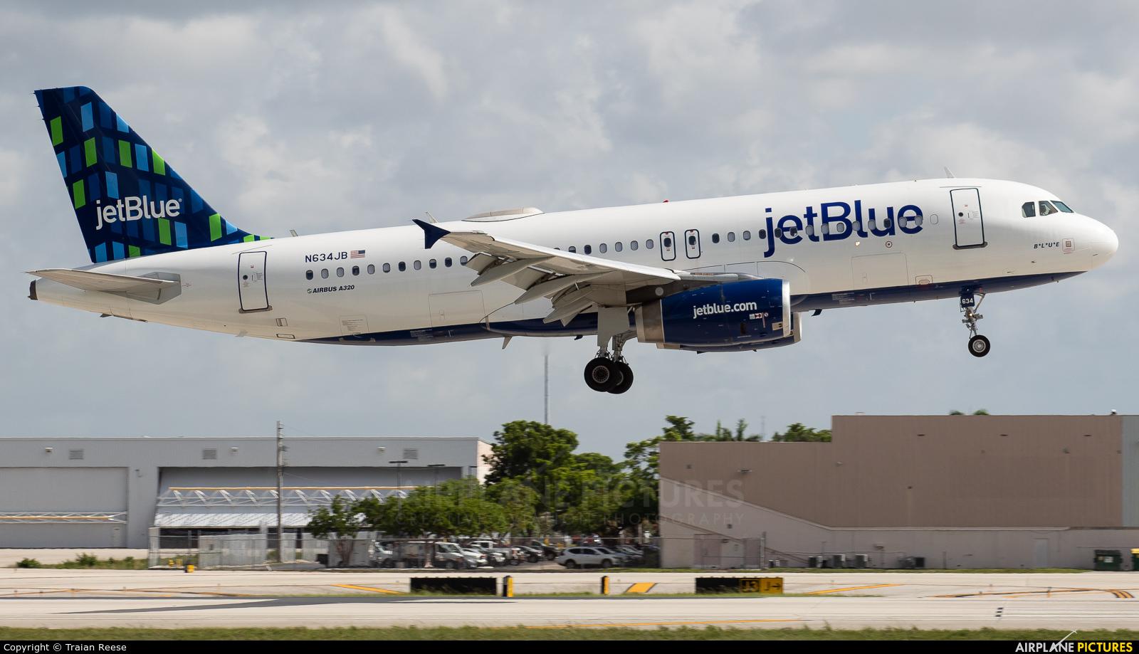 JetBlue Airways N634JB aircraft at Fort Lauderdale - Hollywood Intl