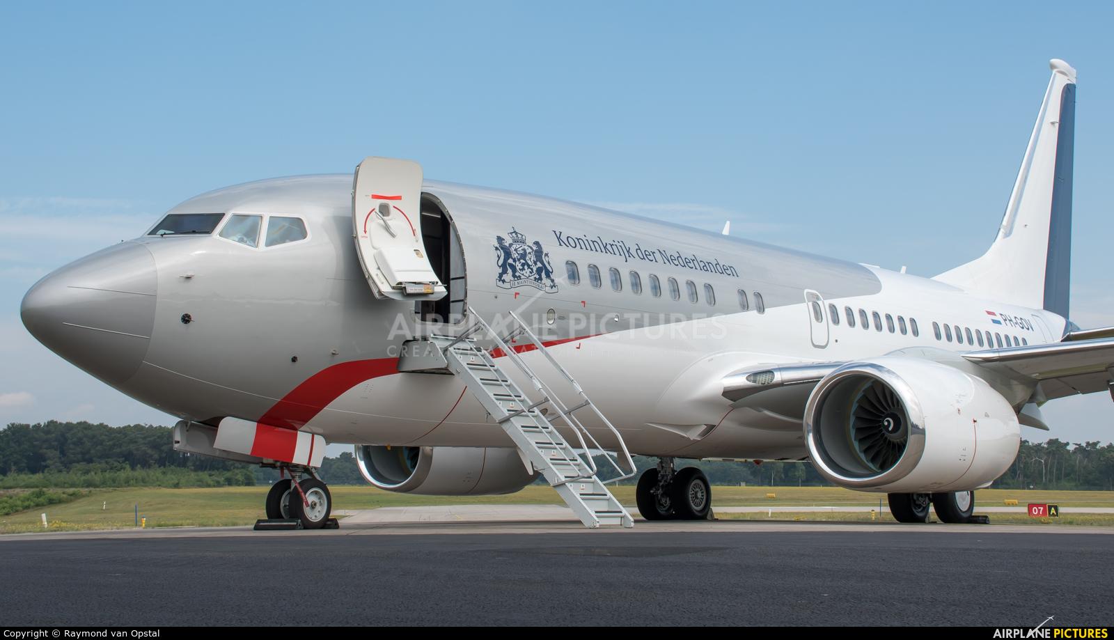 Netherlands - Government PH-GOV aircraft at Bergen op Zoom - Woensdrecht