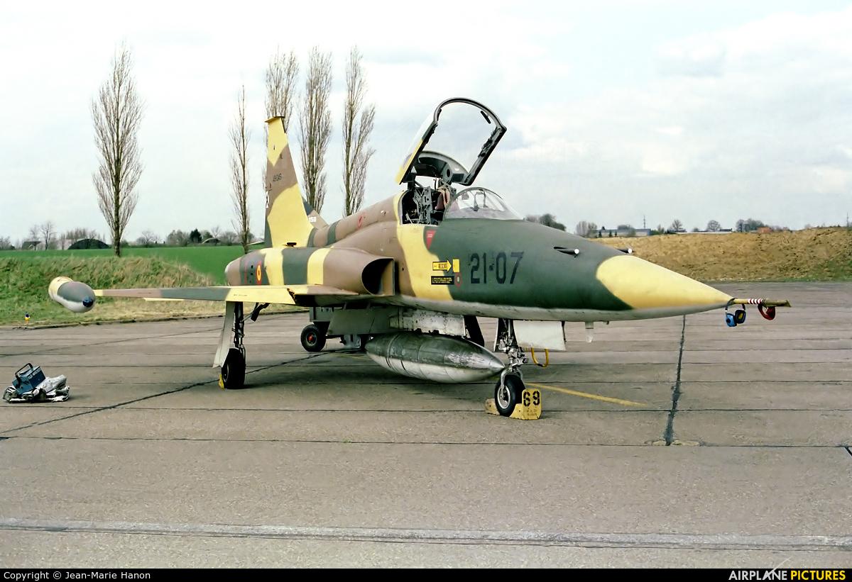 Spain - Air Force A.9-045 aircraft at Liège-Bierset