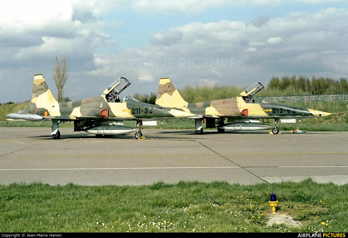 Spain - Air Force A.9-039 aircraft at Liège-Bierset