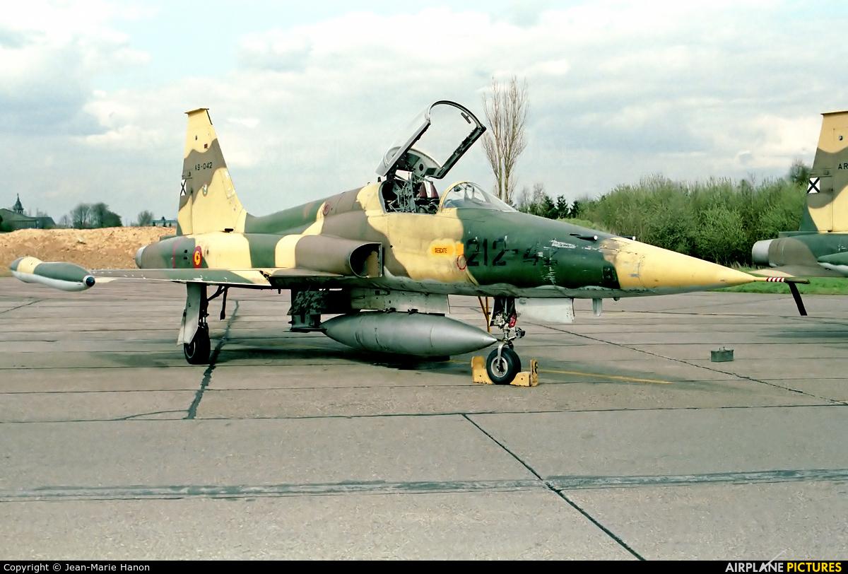 Spain - Air Force A.9-042 aircraft at Liège-Bierset