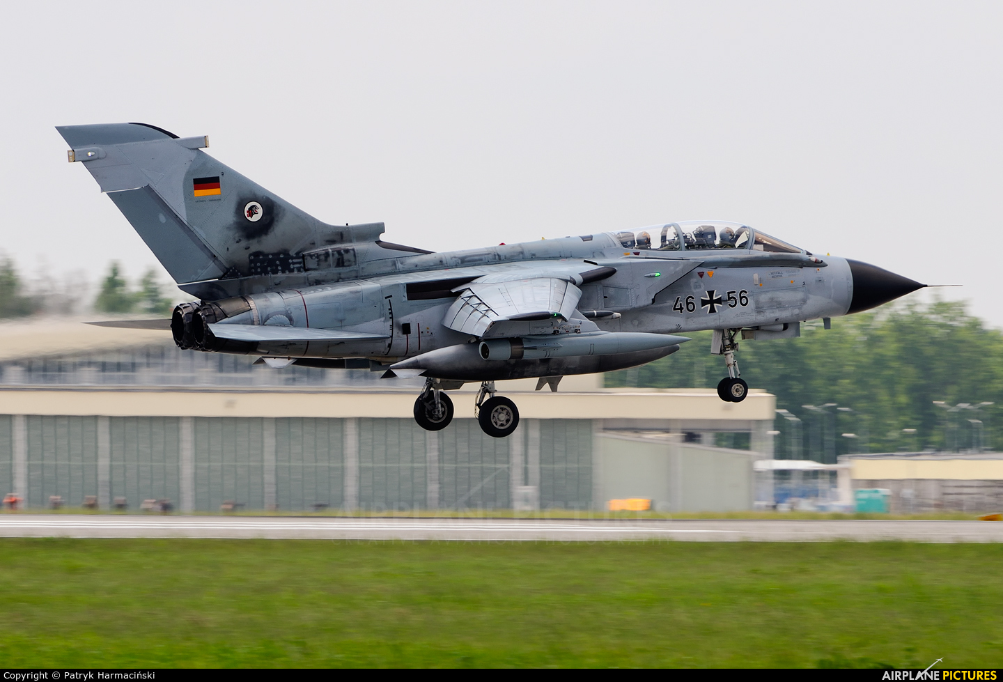 Germany - Air Force 46+56 aircraft at Poznań - Krzesiny